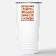 2-THE CONSTITUTION Travel Mug