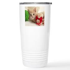 Yarn Kitty mousepad Travel Mug