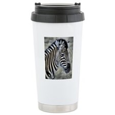 Zebra Art Travel Mug