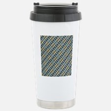 Tweed weave Stainless Steel Travel Mug