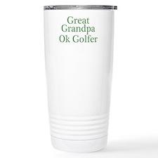 Great Grandpa OK Golfer Thermos Mug