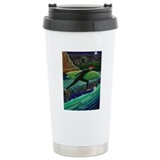 The Nightrider xmas car Travel Mug