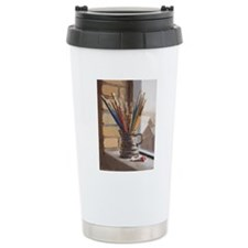 Paint Brushes 2 Travel Mug