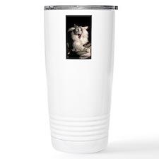 tired_cat_mini Travel Mug