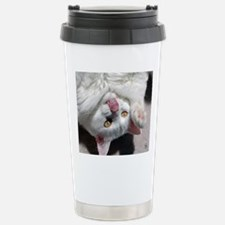 silly_cat_mpad Stainless Steel Travel Mug