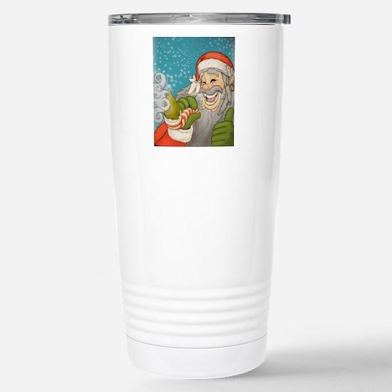 santa_notext Stainless Steel Travel Mug