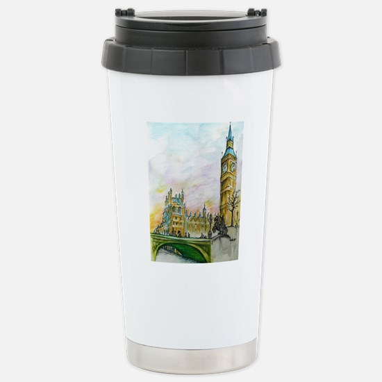big ben small poster Stainless Steel Travel Mug