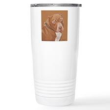 amstaff1-square Travel Coffee Mug