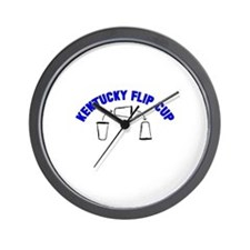 Kentucky Flip Cup Wall Clock