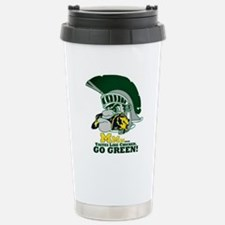 sparty is hungry Travel Mug