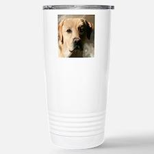 YellowLabCLOCKS Travel Mug
