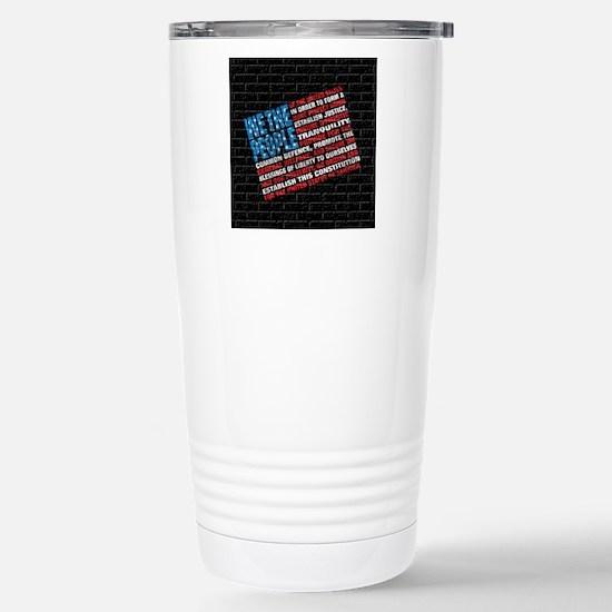 AG Flag Stainless Steel Travel Mug