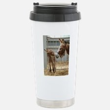 Newborn Donkey Foal Stainless Steel Travel Mug