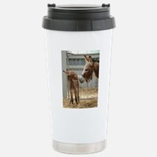 Newborn Donkey Foal Travel Mug