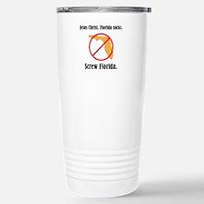 Screw Florida Stainless Steel Travel Mug