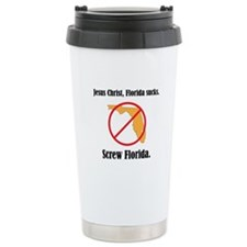 Screw Florida Travel Mug