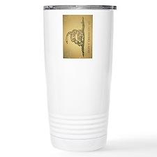 iPad-Vintage Gadsden Travel Coffee Mug