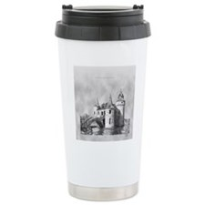boldt castle tile box Travel Mug