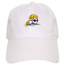 Pirate / Buccaneer with Patch Baseball Cap