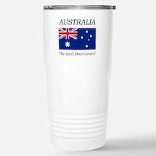 Australian Flag Stainless Steel Travel Mug