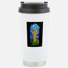 St. Francis Stained Gla Travel Mug