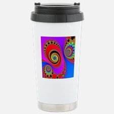 Spiral With Hook Rugs Stainless Steel Travel Mug