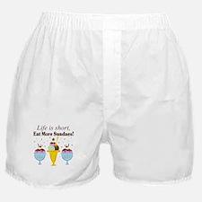Eat Sundaes Boxer Shorts