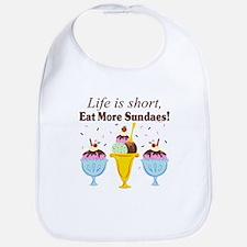 Eat Sundaes Bib
