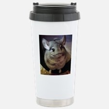 CJ on wheel - 8x8 Travel Mug