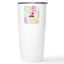 Bright Funny I heart Mu Travel Coffee Mug