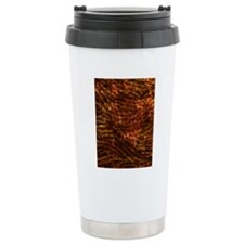 FabBatikAbCatOr459_ipad Travel Coffee Mug