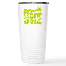 UKE Yellow-Green Travel Mug