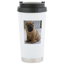 LaurensSharpei Travel Mug