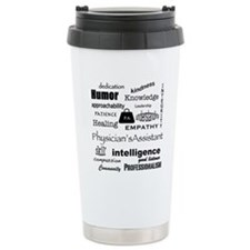 Physician Assistant Word Cloud Thermos Mug