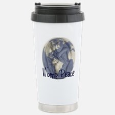 wombpeace2 Stainless Steel Travel Mug