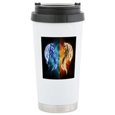 Dragons - Fire And Ice Travel Mug