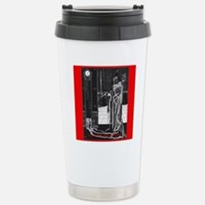 The Masque of the Red D Travel Mug