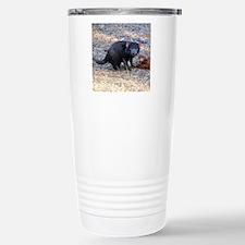 Hungry Tasmanian Devil Stainless Steel Travel Mug