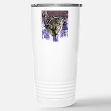 wolf 10x10 Stainless Steel Travel Mug