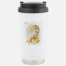 8. SEXY AND BLONDE Stainless Steel Travel Mug