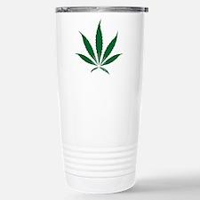 pot leaf Stainless Steel Travel Mug