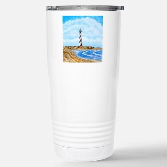 Cape Hatteras Lighthous Stainless Steel Travel Mug