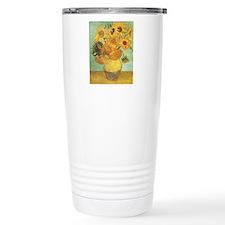 Van_Gogh_Twelve_Sunflowers.jpg Travel Mug