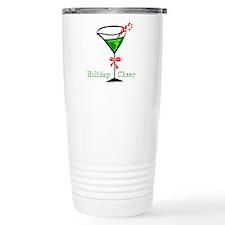 Candy Cane Martini Travel Coffee Mug