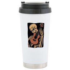 skullguitarcolor2 Travel Mug
