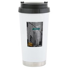 New York, 5th ave Travel Mug