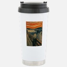 The Scream by Munch Stainless Steel Travel Mug