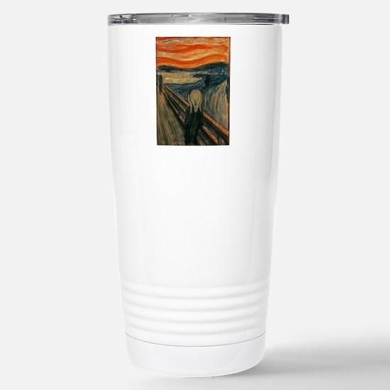 The Scream by Munch Stainless Steel Travel Mug