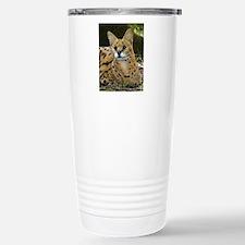 serval 015 Stainless Steel Travel Mug