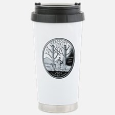 coin-quarter-vermont Travel Mug
